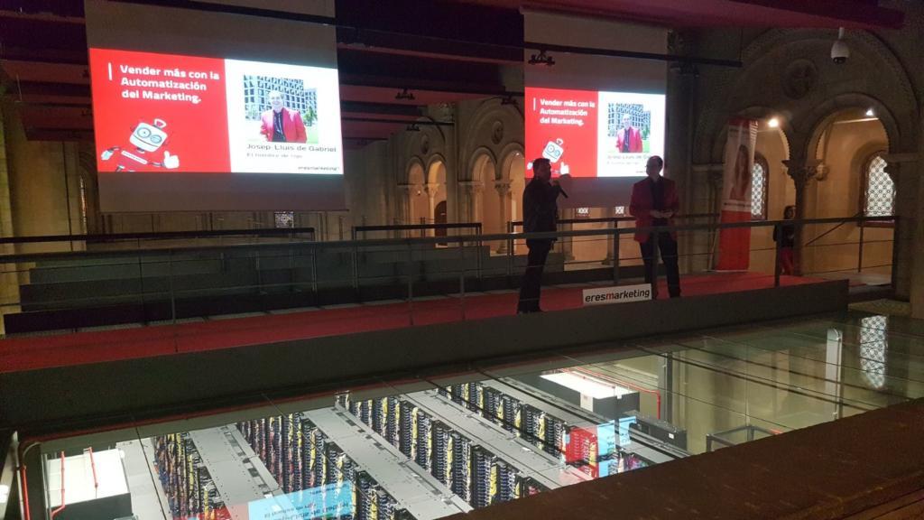 Evento de Marketing Automation en el Super Computador Mare Nostrum de Barcelona